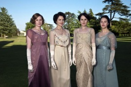 The Crawley ladies pre war fashion